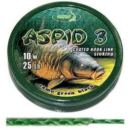 Katran Coated Braided Hook Link Aspid 3 25lb 11,4kg 10m